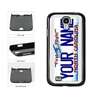 Personalized Custom North Carolina License Plate Plastic Phone Case Back Cover Samsung Galaxy S4 I9500