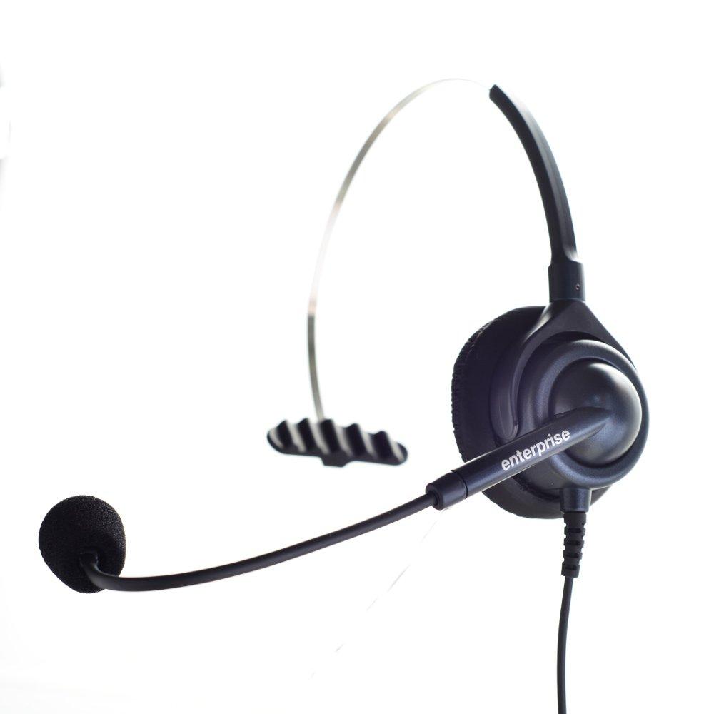 顧客ニーズで生まれた業務用電話機ヘッドセット(6色対応):ブラックマイク感度中感度タイプ(NTT、日立、ナカヨ、パナソニック、岩通、東芝、沖電気、AVAYA、Polycomに対応)国産高品質2年保証  (BK)ブラック B01BY1CYE8