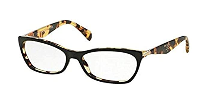 2bebeeccbb Prada Women s PR 15PVA Eyeglasses 55mm at Amazon Women s Clothing store