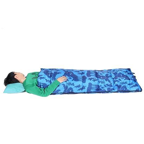 Al aire libre de algodón saco de dormir caliente para los niños de 4 estaciones de