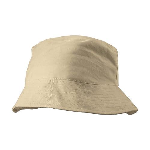 100% algodón unisex Cubo gorro–Gorra de Sun para la pesca Fisher Beach Festival
