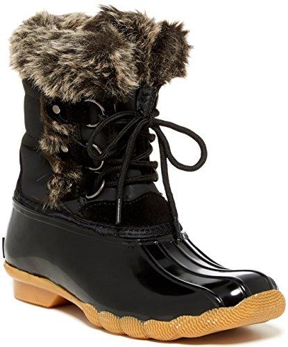 Arctic Plunge Womens Bleu Lierre Boot Noir