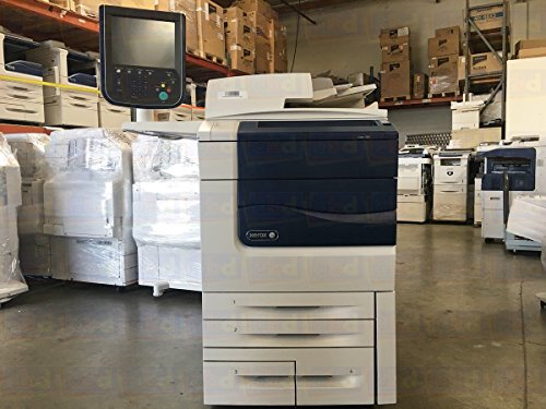 (Xerox Color 570 Digital Laser Production Printer/Copier - 75 ppm, Copy, Print, Scan, 2 Trays, Tandem Tray, 497K02420 Offset Catch Tray, B3G Integrated Color)