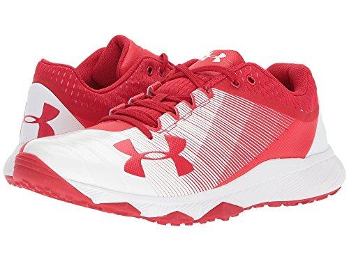 (アンダーアーマー) UNDER ARMOUR メンズランニングシューズ?スニーカー?靴 UA Yard Low Trainer Red/White 10.5 (28.5cm) D - Medium