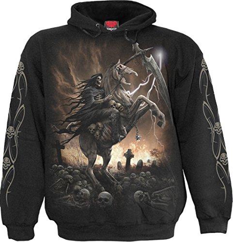 Spiral - Mens - Pale Rider - Hoody Black - M