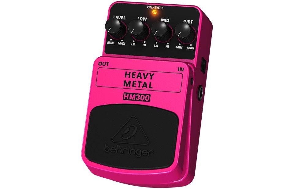 Behringer HM300 - Pedal de distorsión para guitarra: Amazon.es: Instrumentos musicales
