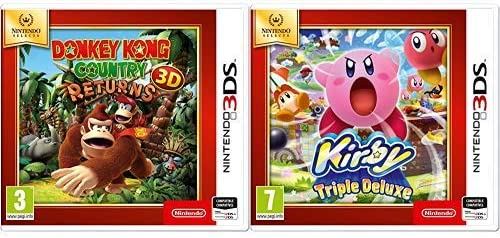 Donkey Kong Country Returns 3D SELECTS & Kirby: Triple Deluxe ...