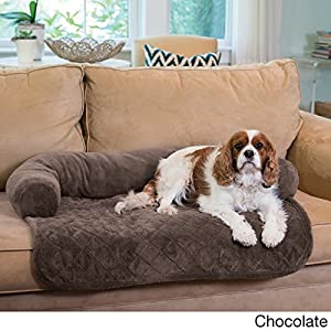 Bolstered Premium Pet Bed Furniture Cover Protector With Machine Washable  100 Percent Stain Resistant Polyester Fabric Includes Our Exclusive Mousepad