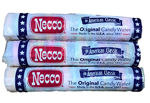 Necco Wafers Original Assorted Candy Rolls (Set of ()