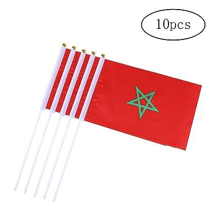 10pcs Banderas Internacional 14 * 21 cm Banderas Diferentes ...