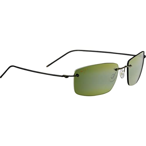 a6702f42ce2 Image Unavailable. Image not available for. Color  Maui Jim Unisex Sandhill  Dark ...
