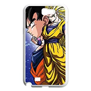 Dragon Ball Z Goku Forms Samsung Galaxy N2 7100 Cell Phone Case White Protect your phone BVS_748708