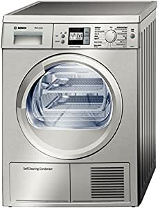 Bosch WTW8658XEE Independiente Carga frontal 7kg A++ Acero inoxidable - Secadora (Independiente, Carga frontal, A++, Acero inoxidable, Derecho, LCD)