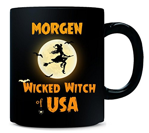 Morgen Wicked Witch Of Usa Halloween Gift - Mug]()