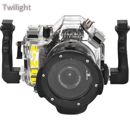 Nimar Underwater Housing for Nikon D3100 DSLR Camera with Lens Port for AF-S Nikkor 18-55mm f/3.5-5.6G ED VR