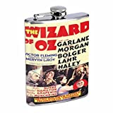 Wizard Of Oz 1939 Judy Garland Flask 8oz D-494 by Perfection In Style
