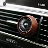 Car Essential Oil Diffuser Vent Clip, Natural Wooden Naturals Aromatherapy Car Air Purifier by UnderReef (Engine)