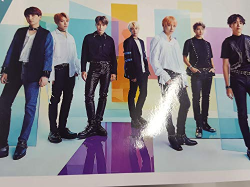 BTS Bangtan Boys 2019/2020 Wall Calendar 11 x 6 inches with Hologram Pencil Case