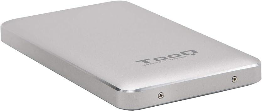 TooQ TQE-2531S - Carcasa para discos duros HDD de 2.5