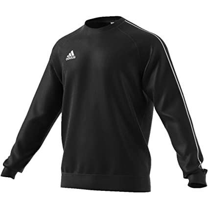 adidas Core18 Sweat Top Sudadera, Hombre, (Negro/Blanco), 3XL
