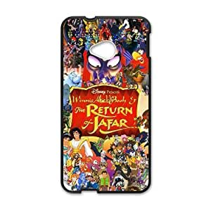 HTC One M7 Black phone case Disney Cartoon Comic Series Aladdin and the King of Thieves QBC3091446