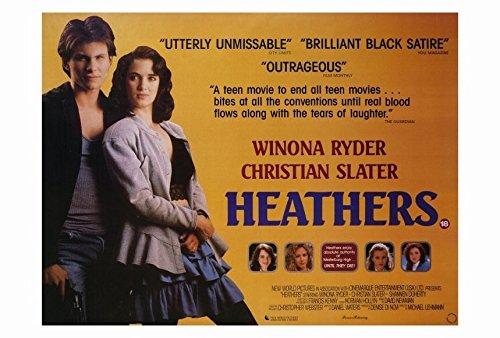 Heathers Poster B Winona Ryder Christian Slater Kim Walker