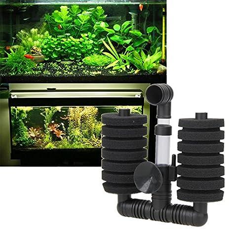 Bomba de oxígeno con filtro y ventosa para acuario o pecera de OPEN BUY: Amazon.es: Hogar