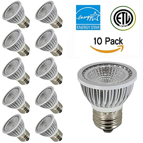 Angle Dimmable Par16 Degree Standard And Bulbs Lumen Replacement Listed 80etl Warm Led 450 Tscdy Beam 2700k Base cri 35 Watt e26e27 White 80 5w pGUSzVqM