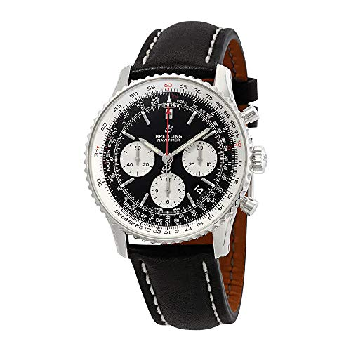 Breitling Navitimer 1 B01 Chronograph 43 AB0121211B1X1 Men's Watch Breitling Black Wrist Watch