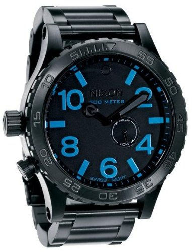[ニクソン]NIXON THE 51-30 ALL BLACK / BLUE NA057602-00 メンズ