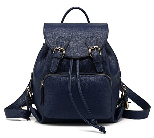 Scarleton Chic Casual Backpack H1608206119 - Navy D ()