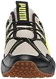 PUMA Men's Ember Sneaker, Overcast Black-Yellow