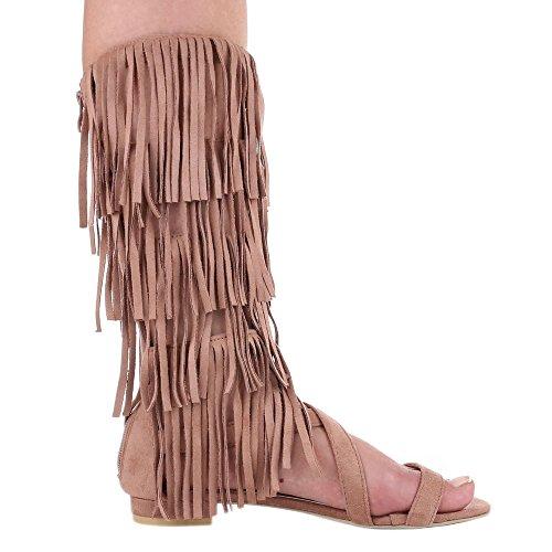Ital-Design - Tira de tobillo Mujer rosa (Altrosa)