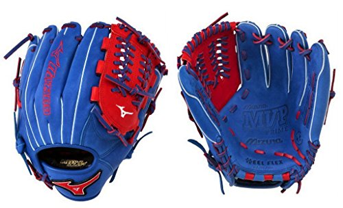 Mizuno GMVP1177PSE3 Prime SE Baseball Glove, Royal/Red, Right Hand Throw