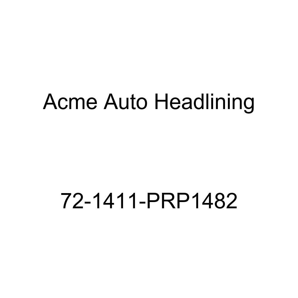 5 Bow Acme Auto Headlining 72-1411-PRP1482 Medium Blue Replacement Headliner 1972 Chevrolet Impala 2 Door Sport Hardtop