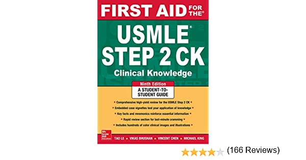 First aid for the usmle step 2 ck ninth edition kindle edition first aid for the usmle step 2 ck ninth edition kindle edition by tao le vikas bhushan professional technical kindle ebooks amazon fandeluxe Images