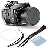 Neewer 40m 130ft Underwater PC Housing Camera Waterproof Case for Sony A7/A7R with 18-70mm Lens