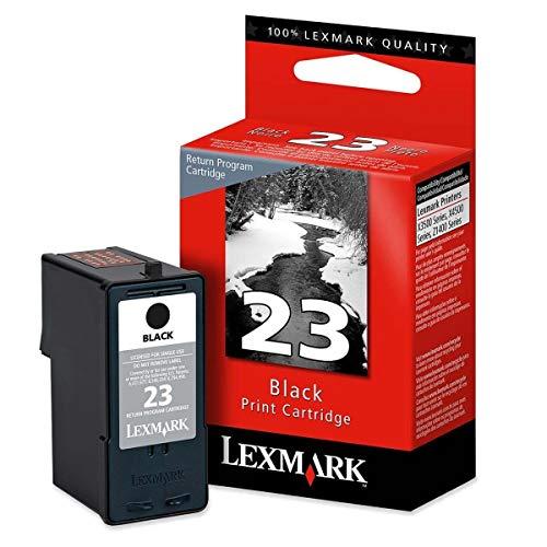 Lexmark 18C1523 23 X3530 X3550 X4530 X4550 X5370 Z1410 Z1420 Ink Cartridge (Black) in Retail Packaging (Lexmark X4550 Ink Cartridges)