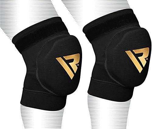 RDX Kniestütze Sport Elastische Kniebandage Knieschoner Knieorthese Knieschützer (MEHRWEG)
