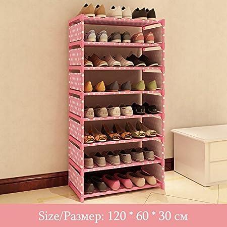 Gaogoo Schuhregal 8 Stufe Vlies Aufbewahrung Schuhschrank Schuhe Diy