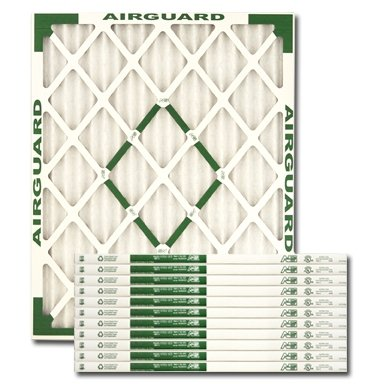 Airguard DP Max 20 x 25 x 1 Air / Furnace Filters Case of 12