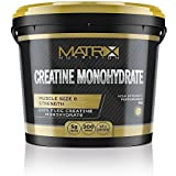Matrix Nutrition Pure Micronised Monohydrate Creatine Powder 1kg | Best Hardcore Muscle Gainer | Weight Training Bodybuilding Workout Supplement