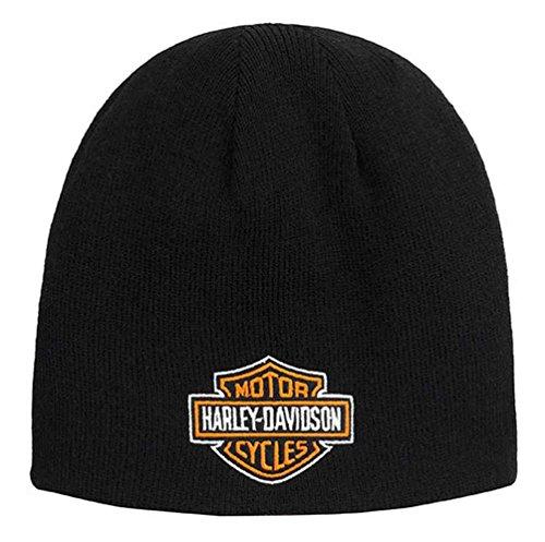 Harley-Davidson Men's Screamin' Eagle Reversible Sideline Knit Cap HARLMH031900