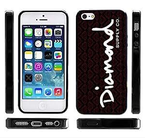 Diamond Supply Co Black/Red OG Writing iPhone 6 4.7 Case Skateboarding
