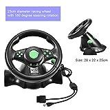 Taidda Gaming Wheel Controller, Gaming Vibration