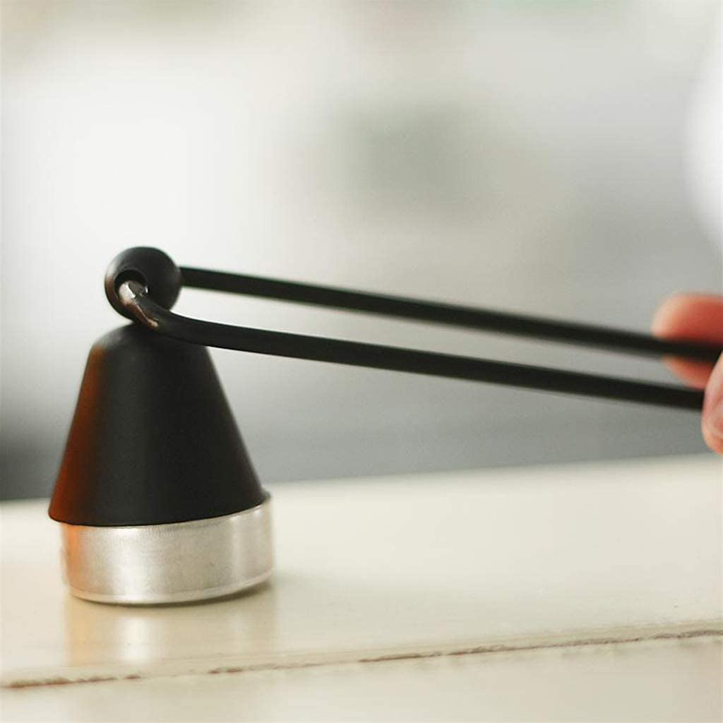 CUTICATE 2X Vela Retro Exquisito Antideslizante Seguro Durable Mecha Apagador Hogar
