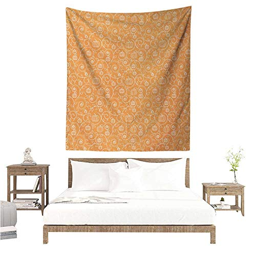 Agoza Harvest Living Room Tapestry Pattern with Pumpkin