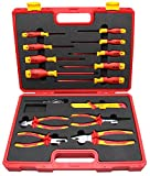 1000v insulated tool sets - BOOHER 0200105 15-Piece 1000V Insulated Tools Set
