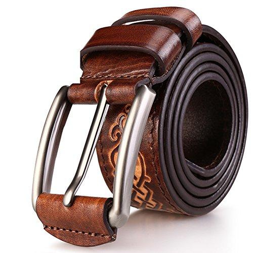 074f99d7b En venta Cinturones Hechos A Mano De Los Hombres Cinturón De Cuero Del  Cinturones De Ocio