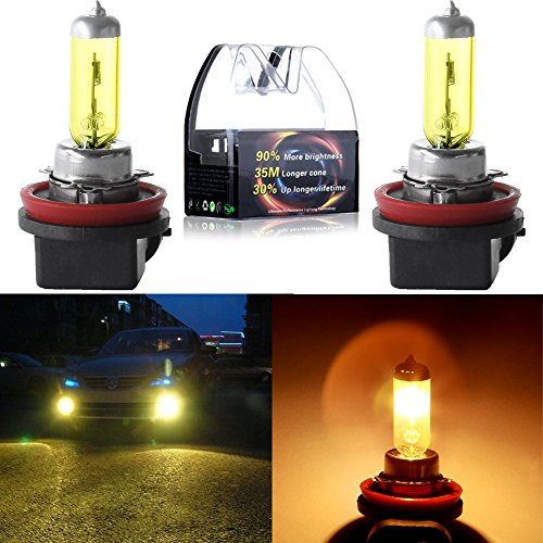 07 acura tl led yellow fog lights - 8